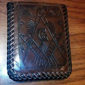 Tennessee vintage Freemason wallet